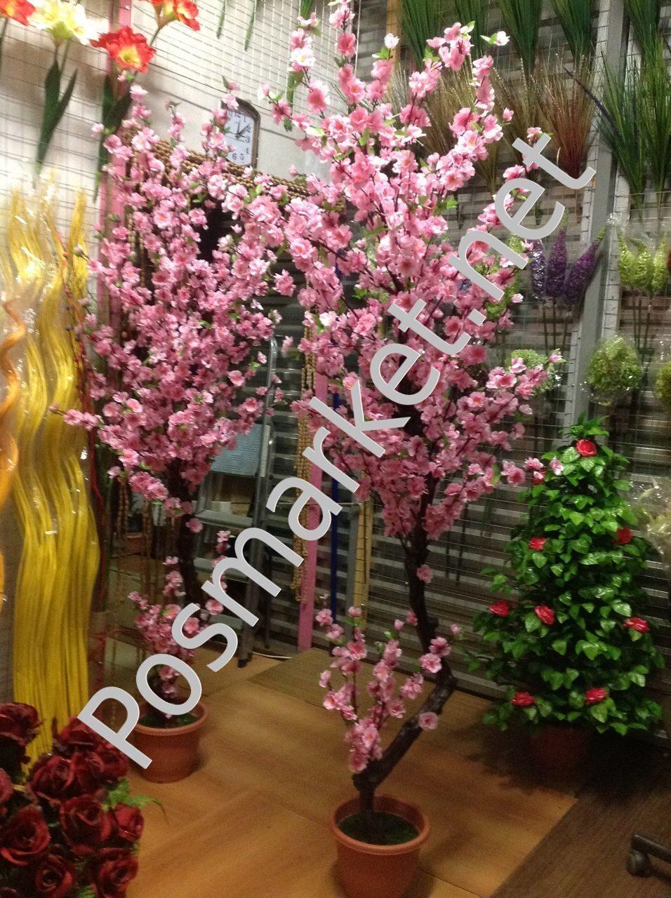 Искусственное дерево своими руками из искусственных цветов