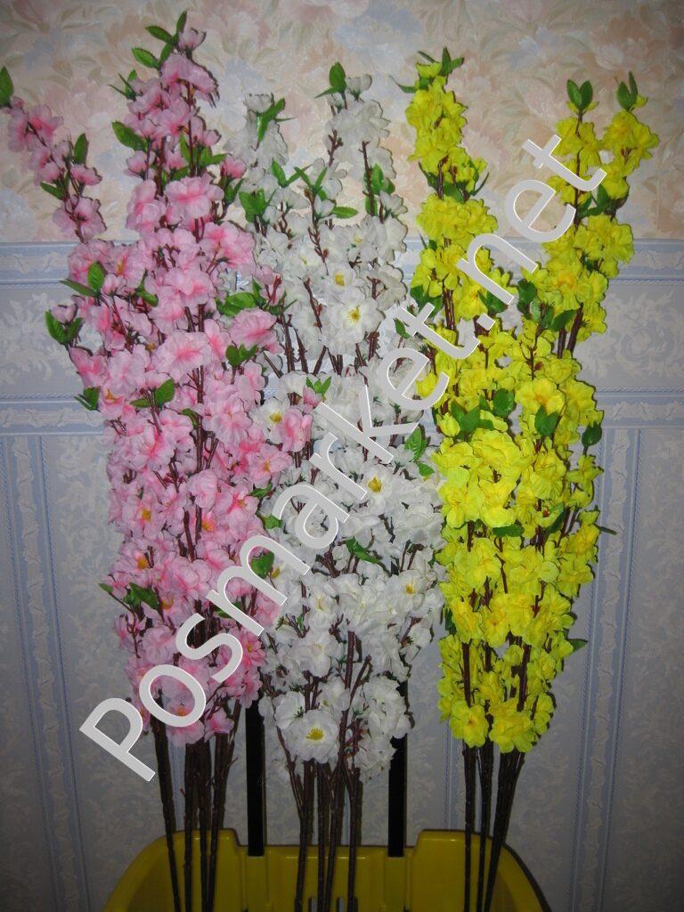 Сакура из искусственных цветов